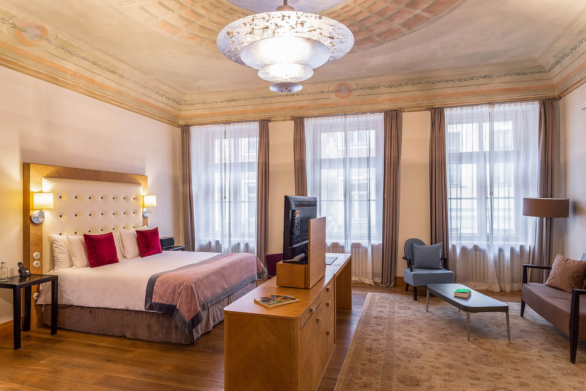 Deluxe Suite at the Dome Hotel in Riga, Latvia